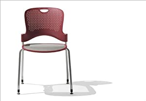 Herman Miller WC4 Caper Stacking Chair With FLEXNET Seat And No A