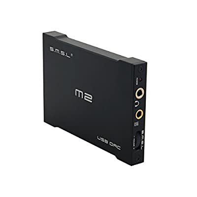 2014 Newest SMSL M2 Portable Headphone Amplifier External DAC Decoder Sound