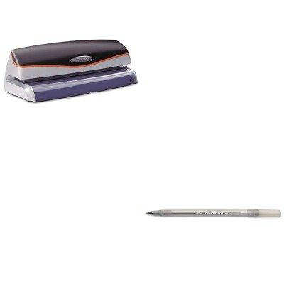 Kitbicgsm11Bkswi74520 - Value Kit - Swingline Optima 20-Sheet Capacity Electric Three-Hole Punch (Swi74520) And Bic Round Stic Ballpoint Stick Pen (Bicgsm11Bk)
