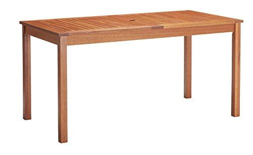 baumarkt direkt Tisch »Vancouver« 220 cm x 110 cm, braun