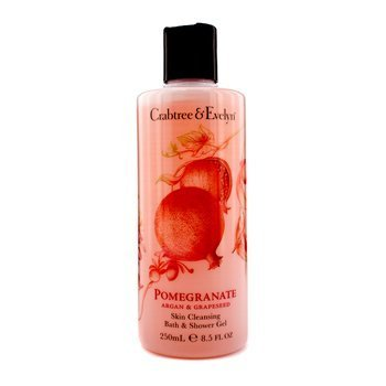 Crabtree & Evelyn - Pomegranate, Argan & Grapeseed Bath & Shower Gel - 250ml/8.5oz by Crabtree and Evelyn
