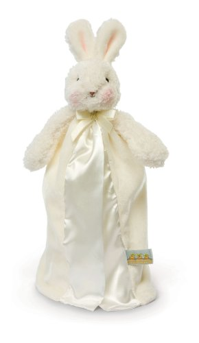Bunnies by the Bay Bye Bye Buddy Blanket, White Bunny