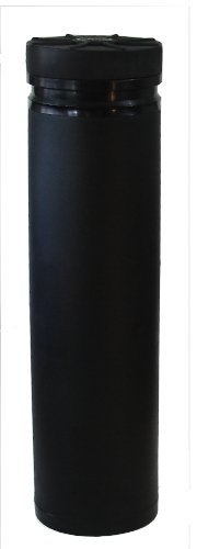 "Mono Vault 248, Black, Dry Box Cache Tube, 13"" diameter x 48"" high"