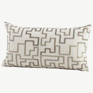 "Cyan Lighting 06531 Tetris - 24"" Pillow, Silver Finish"