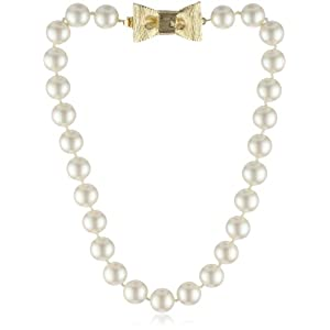 "Kate Spade New York ""All Wrapped Up"" Pearls Short Necklace"