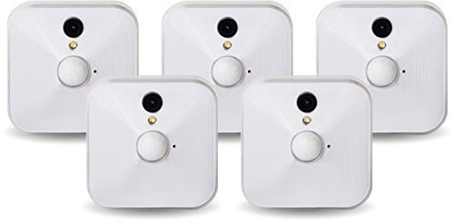Blink Smart Home HD Monitor & Alert System, 100% Wire-Free - 5 Cameras