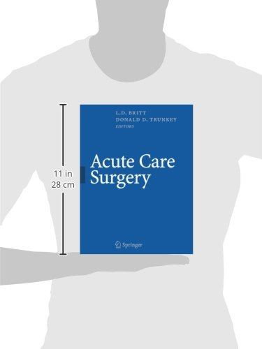 Acute Care Surgery: Principles and Practice
