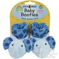 Newborn Blue Elephant Baby Booties 0-6 Months