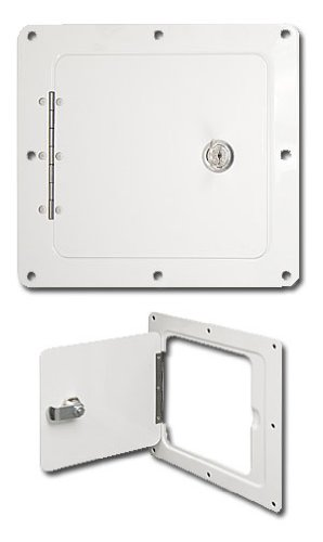 Ultra-Fab Products 48-979009 White Universal Access Door (Rv Storage Door compare prices)