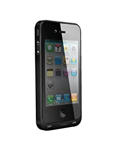 Tursion High Quality 1600 mAh External Battery Pack Portable Power Bank Case Charger with FM Transmitter for Apple iPhone 4S 4 - AT&T and Verizon
