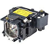 Alda PQ Replacement Projector Lamp LMP-C161 for SONY VPL-CX76 Projectors, module with housing