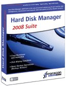 Paragon Hard Disk Manager 2008 Suite [OLD VERSION]