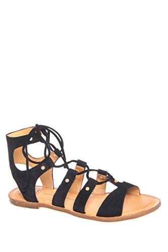 Jasmyn Low Gladiator Flat Sandal