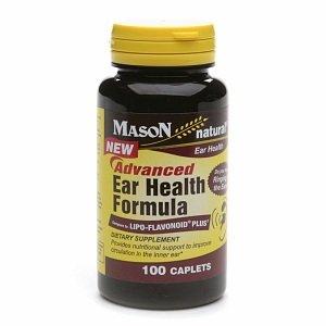 Mason Natural Advanced Ear Helth Formula, Caplets 100 ea