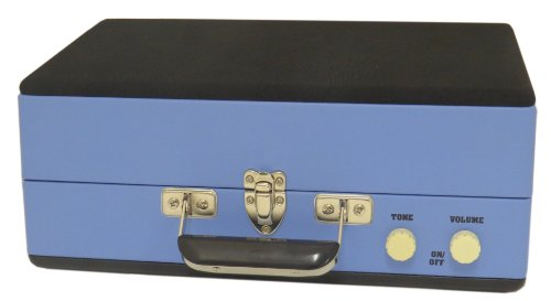 Steepletone SRP025 3 Speed Record Player with Detachable Speaker - Blue Black Friday & Cyber Monday 2014