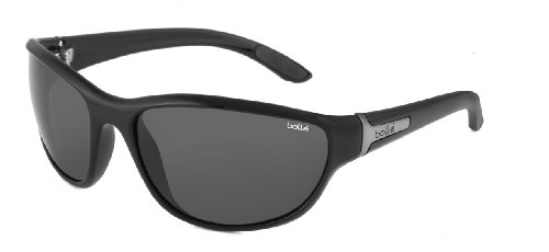 Bolle Mist Sunglasses, Shiny Black with TNS Lens