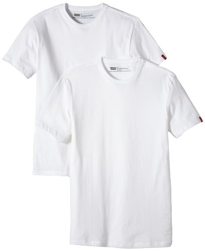 Levi's Herren Shirt/ T-Shirt 821760002, Gr. 52 (L) Weiß (White/White (60)
