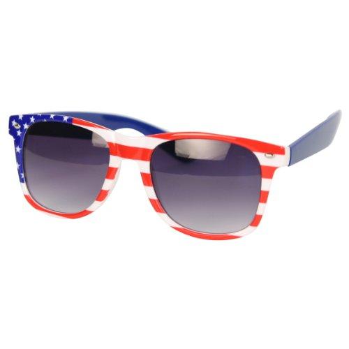 """""""USA"""" American Flag Sunglasses - H4182 - USA"""