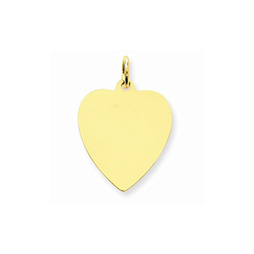 14k Yellow Gold Plain Small .013 Gauge Facing Left Engravable Girl Head Charm
