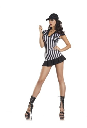 Be Wicked Costumes Women's Miss Referee Costume