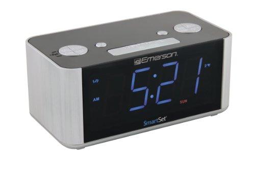 emerson cks1708 smart set radio alarm clock new ebay. Black Bedroom Furniture Sets. Home Design Ideas