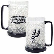 San Antonio Spurs Crystal Freezer Mugs - Set of 4