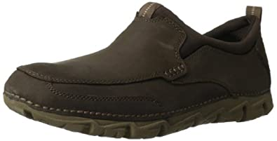 Rockport Men's RocSports Lite 2 Slip-On Loafer,Chocolate,6.5 W US