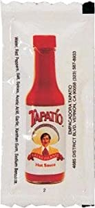Tapatio Hot Sauce Travel Camp Packet 20 Set from Tapatio