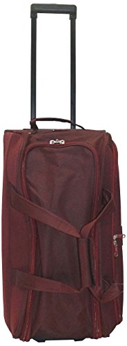 Princeware Princeware Russel Polyester 62 Cms Burgundy Travel Duffle (6961) (Red)