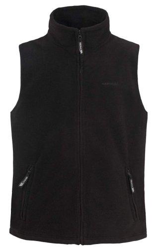 Mens TRESPASS Fleece Gilet Waistcoat Jacket Black Sizes M, L, XL