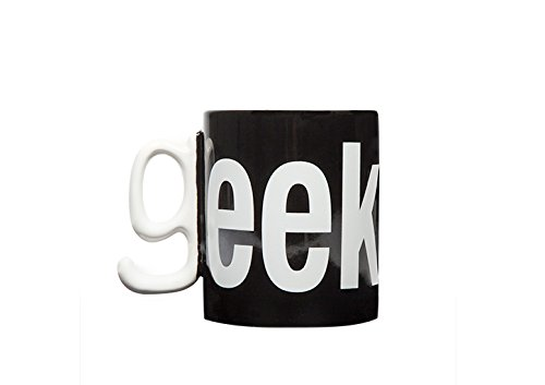 Thumbs Up! Geek Mug, Black