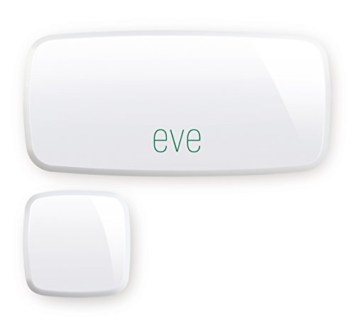Elgato Eve Door & Window, Sensore di contatto wireless, per porte e finestre, abilitato Apple HomeKit