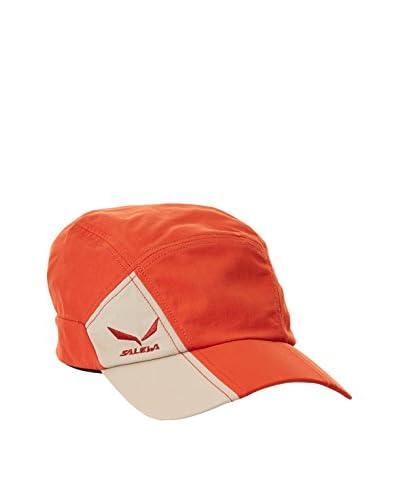 Salewa Cappellino con Visiera Sun Protect Visor [Rosso]