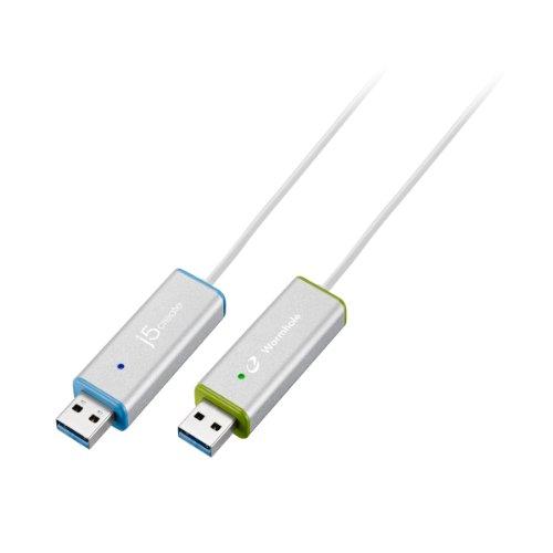 【国内正規代理店品】J5 create ワームホールスイッチ USB3.0 ディスプレイシェア シルバー JUC700