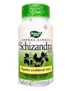 Schizandra 580 mg 100 Capsules by Nature's Way