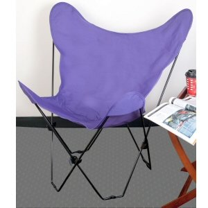 Wonderful Light Purple Butterfly Chair Cover Review