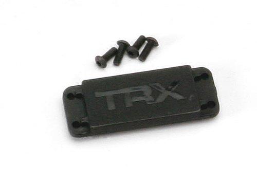 Traxxas 5326X Servo Cover Plate, 3 x 8mm BCS - 1