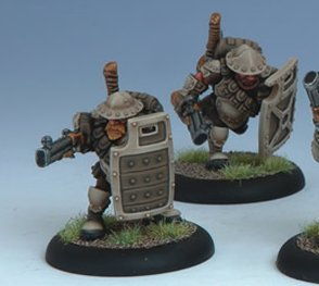 Hammerfall Shield Gun Corp (blister of 2) Warmachine