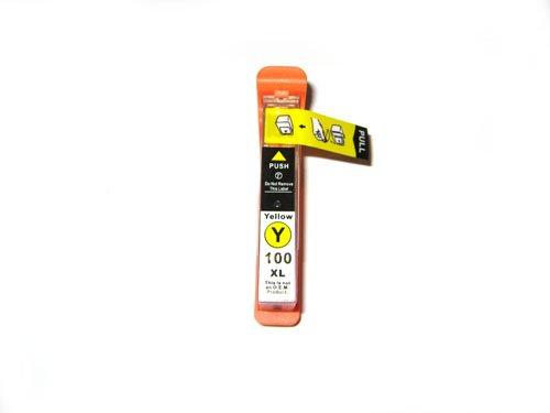 1x kompatible Druckerpatrone Lexmark 100 in Gelb für Drucker Lexmark Pinnacle Pro 901 Hohe Kapazität