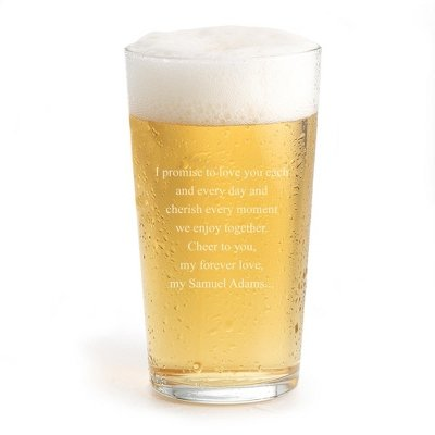 Personalized Classic Beer Pint Glass - Gifts For Beer Lovers front-40313