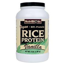Nutribiotic de protéines de riz Vanille VEGAN £