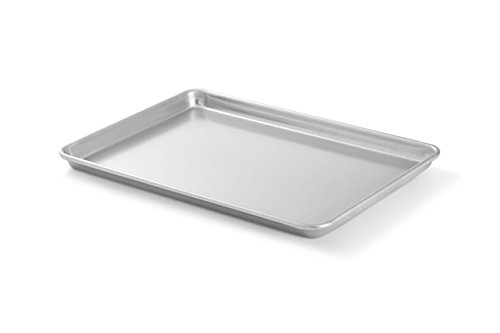 Artisan Professional Classic Aluminum Baking Sheet Pan with Lip, 13 x 9.5-inch Quarter Sheet (Small Oven Tray compare prices)