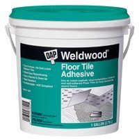 Dap 00137 Weldwood Floor Tile Adhesive, Gallon
