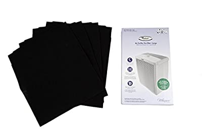 Whirlpool 8171434K Large Air Purifier Carbon Pre-Filters, 4-Pack
