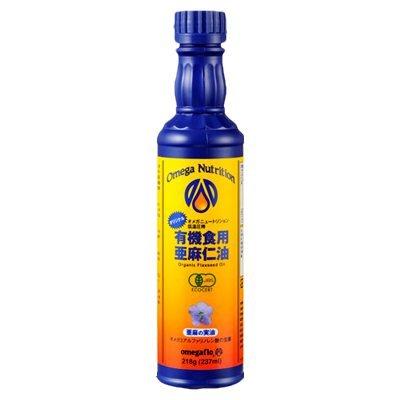 有機JAS フラックスシードオイル(亜麻仁油)237ml