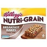 Kellogg's Nutri Grain Elevenses Choc Chip Bakes 6 X 45G