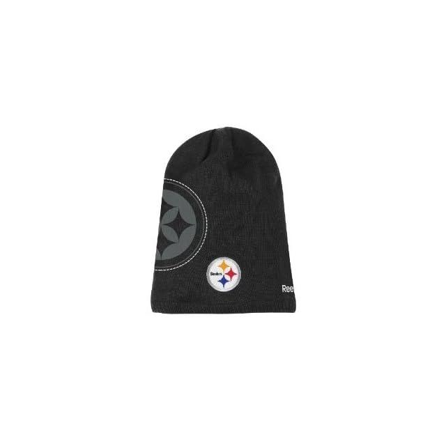 Pittsburgh Steelers 2010 Sideline 2nd Season Player Knit Hat Sports Fan  Beanies Sports   Outdoors ec7b7ce87