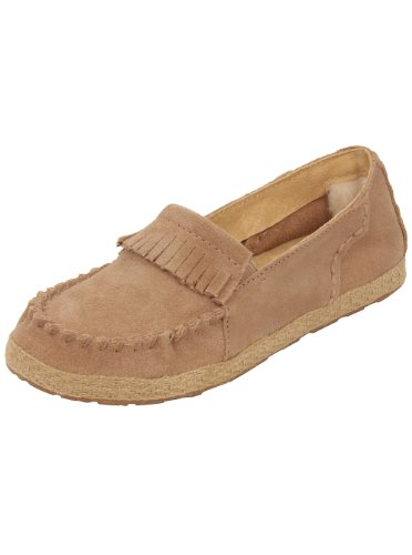 Ugg Australia Youth Marin Moccasin In Fawn 13 W Us