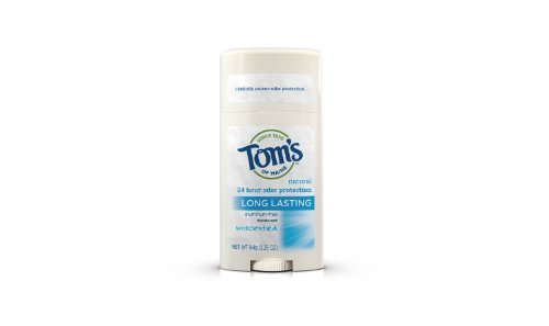 Toms of Maine Natural Deodorant Stick, Unscented, 2.25-Ounce Stick (Pack of 6)