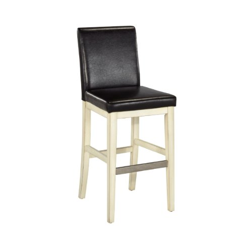Home Styles Nantucket Bar Stool, White front-973677
